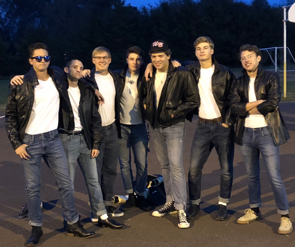 The Greasers (minus Joe College)