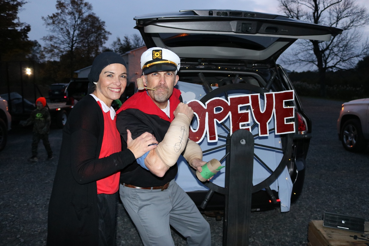 Popeye and Olive!